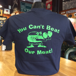 MrBartley's Blue T-Shirt Back