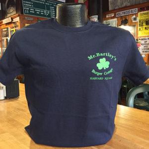 MrBartley's Blue T-Shirt Front