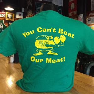 Mrbartley Green T-Shirt Back