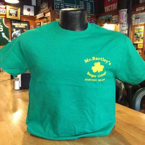 MrBartley's Green T-Shirt Front