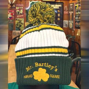 MrBartleys Green Pom Pom Hat