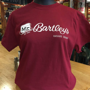 MrBartleys Red T-Shirt Front